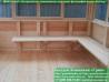 Застекленная шестиугольная беседка 4 метра
