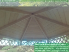 Шестиугольная беседка для дачи 3 метра
