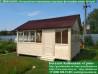 Садовый шатер для дачи 4,5х4,5 метра