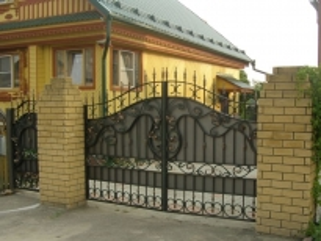 Кованые Ворота На Дачу